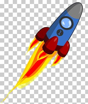 Animation Rocket PNG
