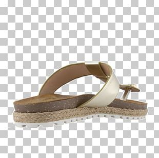 Slide Suede Sandal Shoe PNG