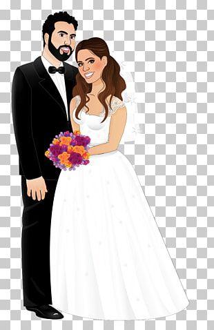 Wedding Invitation Marriage Bride Wedding Dress PNG