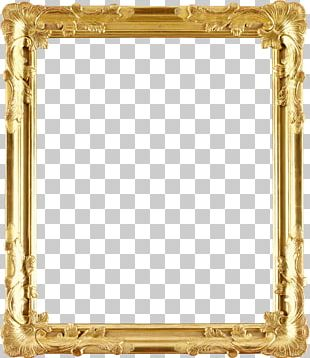 Frames Gold Stock Photography Decorative Arts PNG