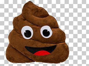 Pile Of Poo Emoji Pillow Emoticon Smiley PNG