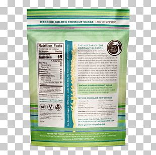 Organic Food Coconut Sugar Coconut Water PNG