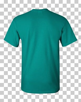 Printed T-shirt Gildan Activewear Sleeve PNG