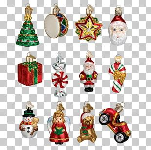 Christmas Ornament Candy Cane Christmas Tree Santa Claus PNG
