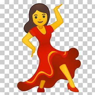 Dancing Emoji Woman Dancing Emojipedia Noto Fonts PNG