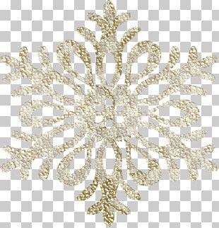 Snowflake Euclidean Brown PNG