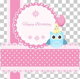 Paper Birthday Greeting Card Owl E-card PNG