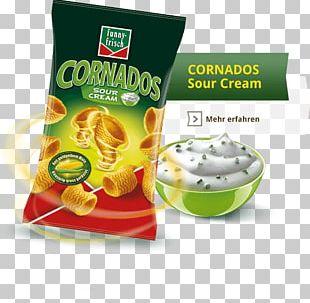 Vegetarian Cuisine Junk Food Potato Chip Condiment Sour Cream PNG