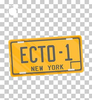 Vehicle License Plates Car Ecto-1 Motor Vehicle Registration Ghostbusters PNG