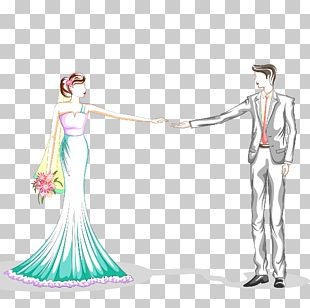 Groom And Bride PNG