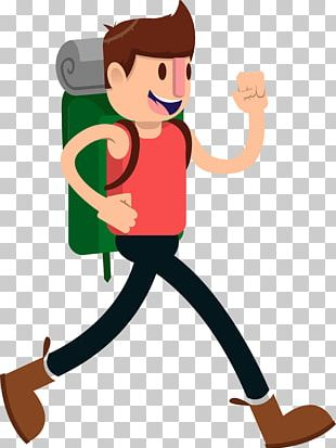 Hiking & Backpacking Animation PNG