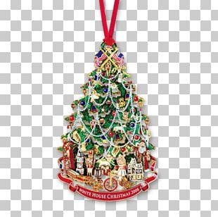 White House Christmas Tree Christmas Ornament Christmas Decoration PNG