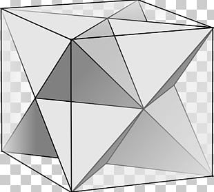 Polyhedron Geometry Platonic Solid Faceting Stellated Octahedron PNG