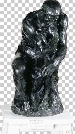 The Thinker Musée Rodin The Three Shades Eve Art PNG