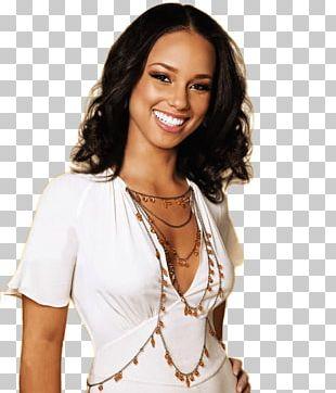 Alicia Keys Smiling PNG
