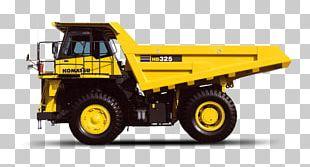 Komatsu Limited Dump Truck Heavy Machinery PNG
