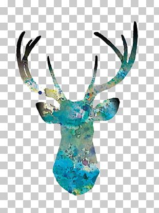 Deer Art Printmaking Drawing Painting PNG