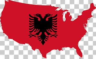 Flag Of The United States Flag Of Albania PNG
