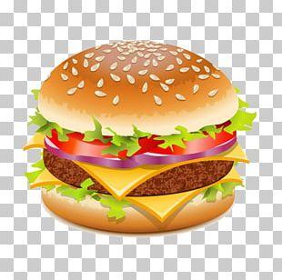 Hamburger Cheeseburger Fast Food PNG