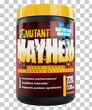 Pre-workout Dietary Supplement Bodybuilding Supplement Cellucor Blue Raspberry Flavor PNG