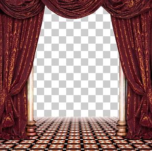 Window Treatment Curtain Living Room PNG