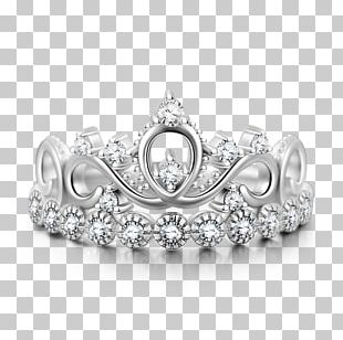 Earring Silver Jewellery Crown PNG