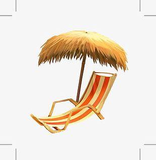Summer Hat Umbrella PNG