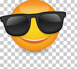 Sunglasses Smiley Emoticon PNG