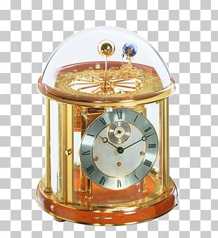 Hermle Clocks Mantel Clock Movement Torsion Pendulum Clock PNG