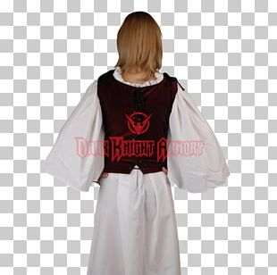 Robe Middle Ages Sleeve Costume Steampunk PNG
