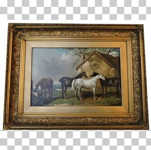 Oil Painting Frames Drawing PNG