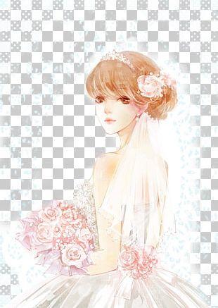 Bride Wedding Illustration PNG