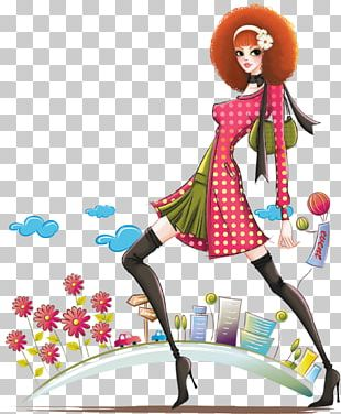 Fashion Illustration Woman Girl PNG