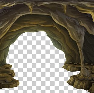 Cave Euclidean Illustration PNG