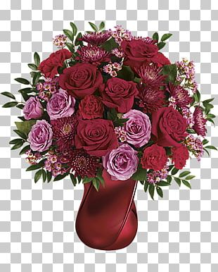 Flower Bouquet Valentine's Day Floristry Gift PNG