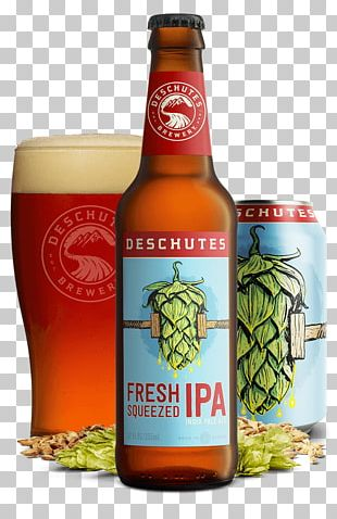 Deschutes Brewery Bend Public House India Pale Ale Beer PNG