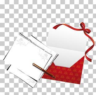 Paper Red Envelope Letter PNG