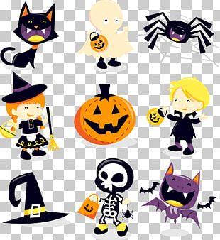 Halloween Cartoon Material PNG