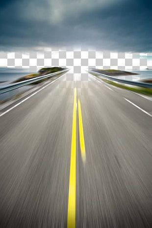 Highway Road Photography PNG