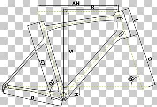 Bicycle Frames Line Drawing Point PNG
