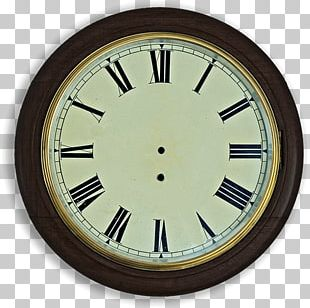 Clock Face Roman Numerals Pendulum Clock Carriage Clock PNG