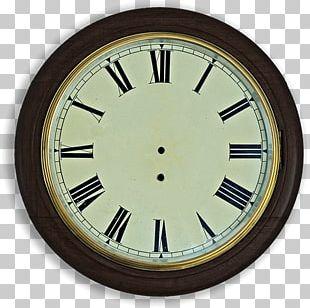Clock Face Roman Numerals Pendulum Clock Carriage Clock PNG