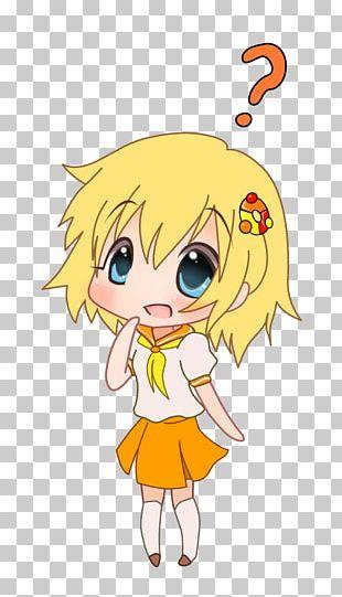Human Hair Color Smiley Character PNG