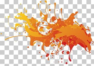 Sticker Art Painting PNG