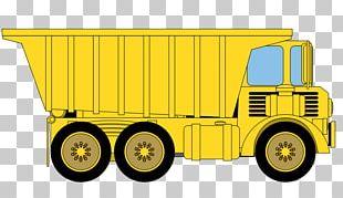 Dump Truck Car PNG