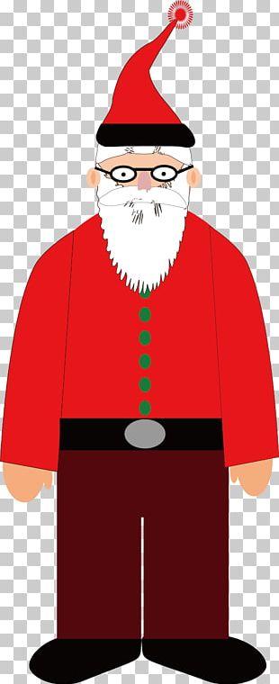 Creative Santa Claus Material PNG