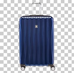 Delsey Suitcase Baggage Hand Luggage Spinner PNG