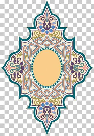 Islam Motif Ornament Pattern PNG