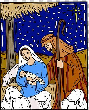 Nazareth Christmas Nativity Of Jesus Nativity Scene PNG