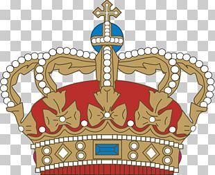 Crown Coat Of Arms Of Denmark Coroa Real Danish PNG